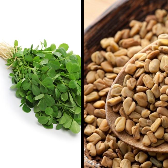 Fenugreek or methi seeds is good for lactating mothers
