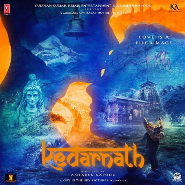 First poster of movie Kedarnath