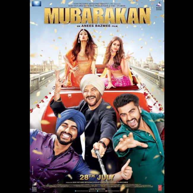 First poster of Mubarakan movie