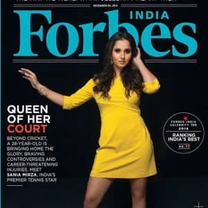 12 Times Sania Mirza Dazzled as a Magazine Cover Girl