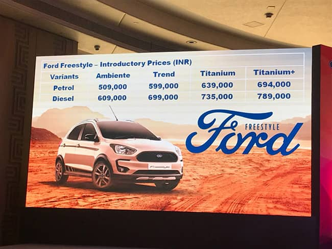 Ford Freestyle interior features
