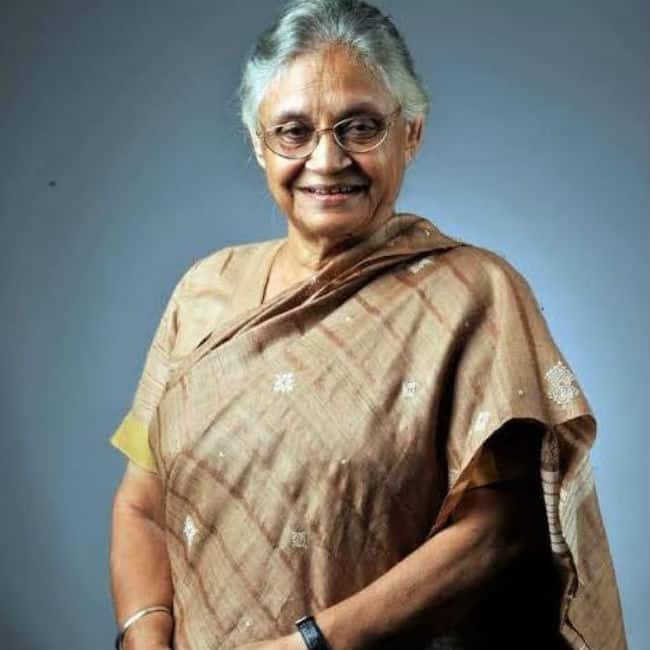 Former Chief Minister Sheila Dikshit Passes Away at The Age of 81