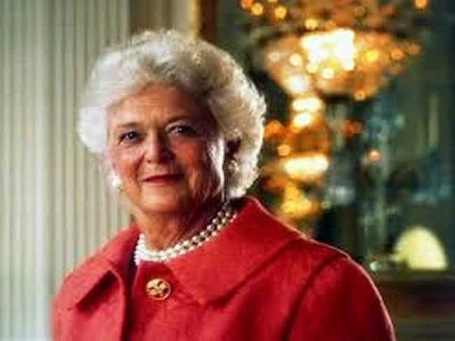 Former First Lady of the US Barbara Bush dies