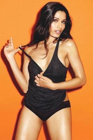 Freida Pinto bikini and swimwear pictures