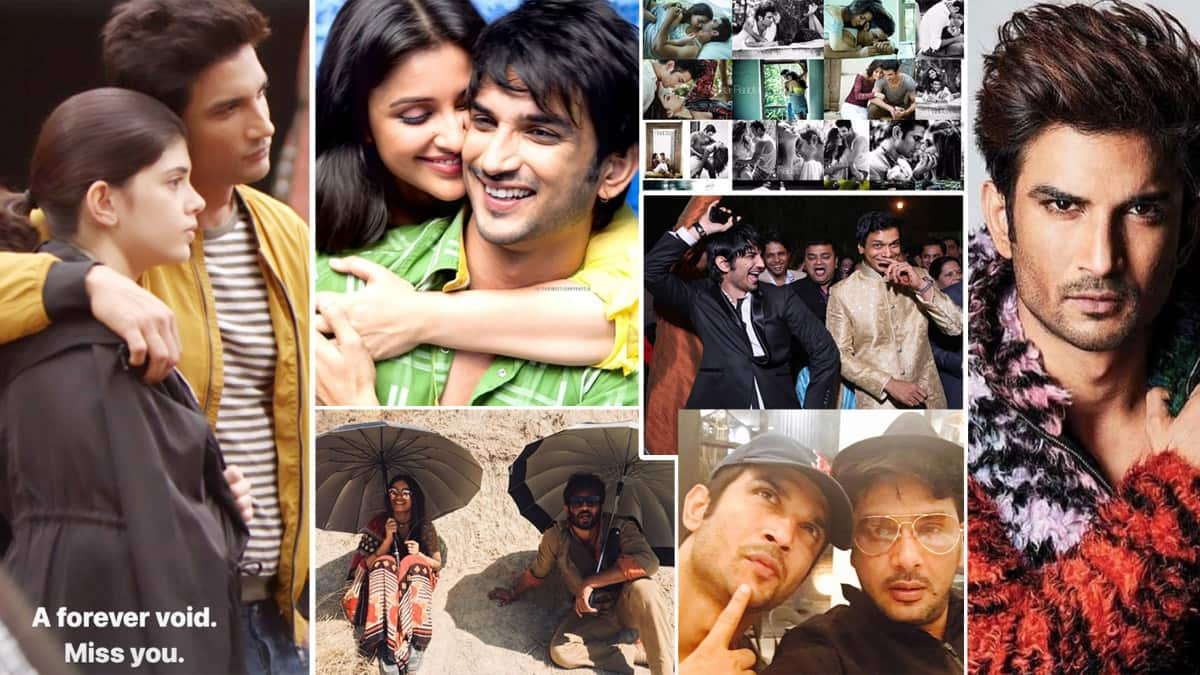 Friends and Celebs remember Sushant Singh Rajput