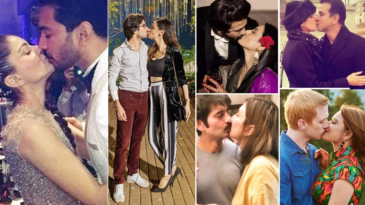 From Gauahar Khan Zaid Darbar To Rubina Dilaik Abhinav Shukla  TV Actors Who Publically Kissed Their Partners
