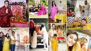 Ganesh Chaturthi 2021: Kareena Kapoor, Ananya Panday, Sonu Sood, Shefali Jariwala and Others, Check Out How Celebs Welcomed Bappa