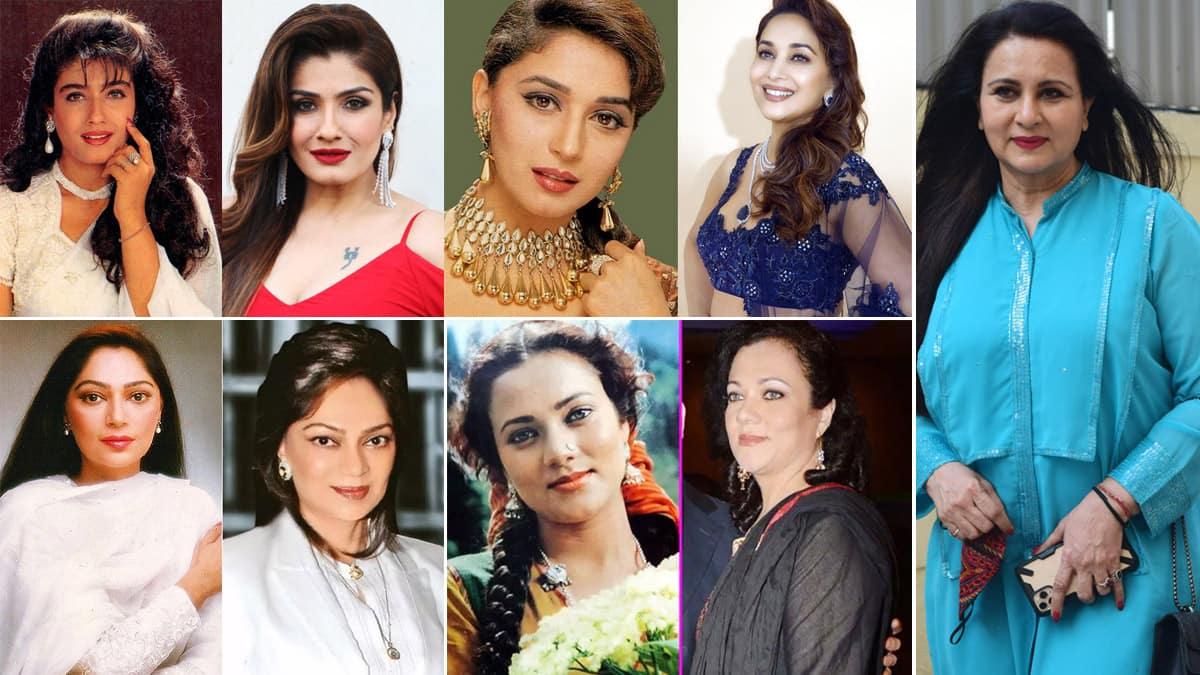 From Poonam Dhillon to Simi Grewal  Top 10 Bollywood Actress Of 80s And 90s Who Still Look Beautiful AF