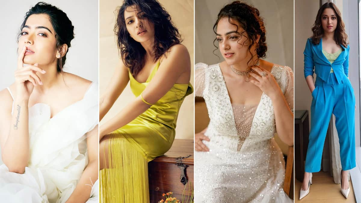 From Rashmika Mandana To Samantha Akkineni  South Indian Beauties That Give Competition To Bollywood Divas