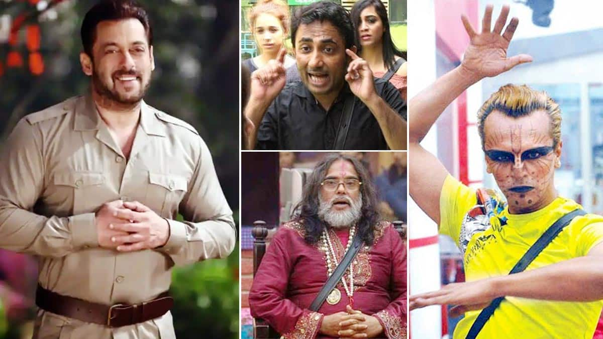 From Sapna Bhavnani To Swami Om  6 Bigg Boss Contestants Who Made Salman Khan Lost His Cool
