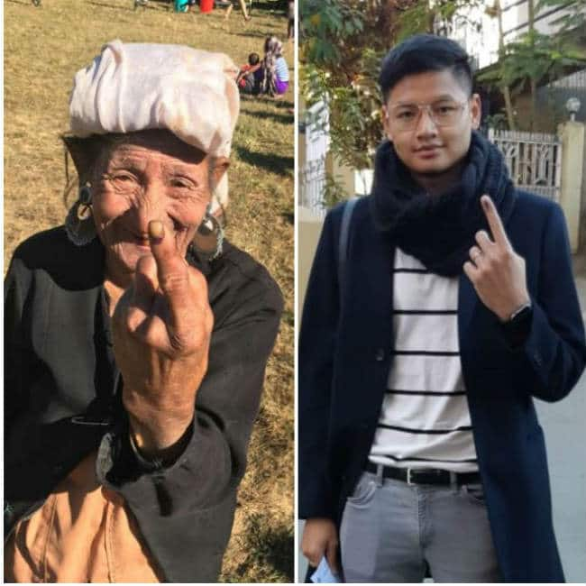 Young to Old : Mizoram Polls Saw Voters From All Walks of Life