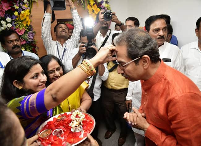 From Shiv Sena President  Uddhav Thackeray Takes Oath to Become Maharashtra CM