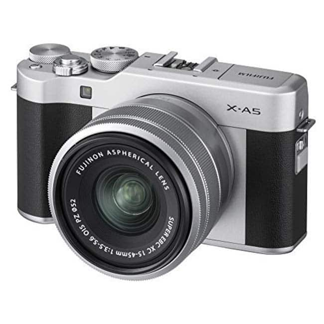 Fujifilm X A5 Mirrorless Digital Camera display features