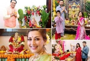 Ganesh Chaturthi 2020: Bollywood Celebs Bring Home Ganpati Bappa