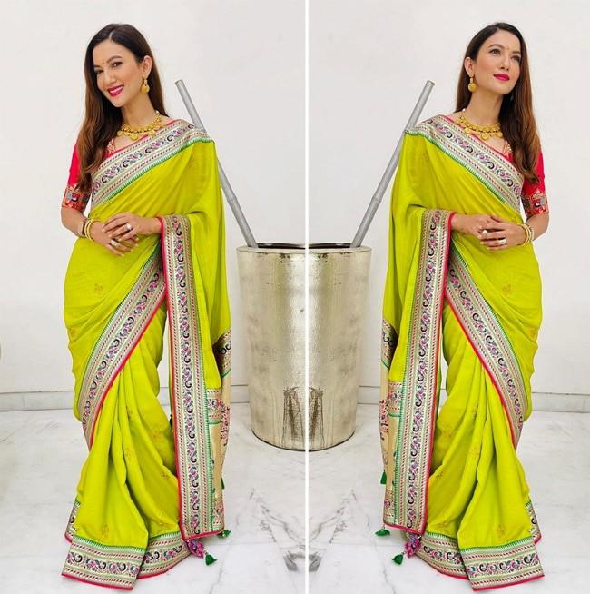 Gauahar Khan shows how to do bridal fashion right