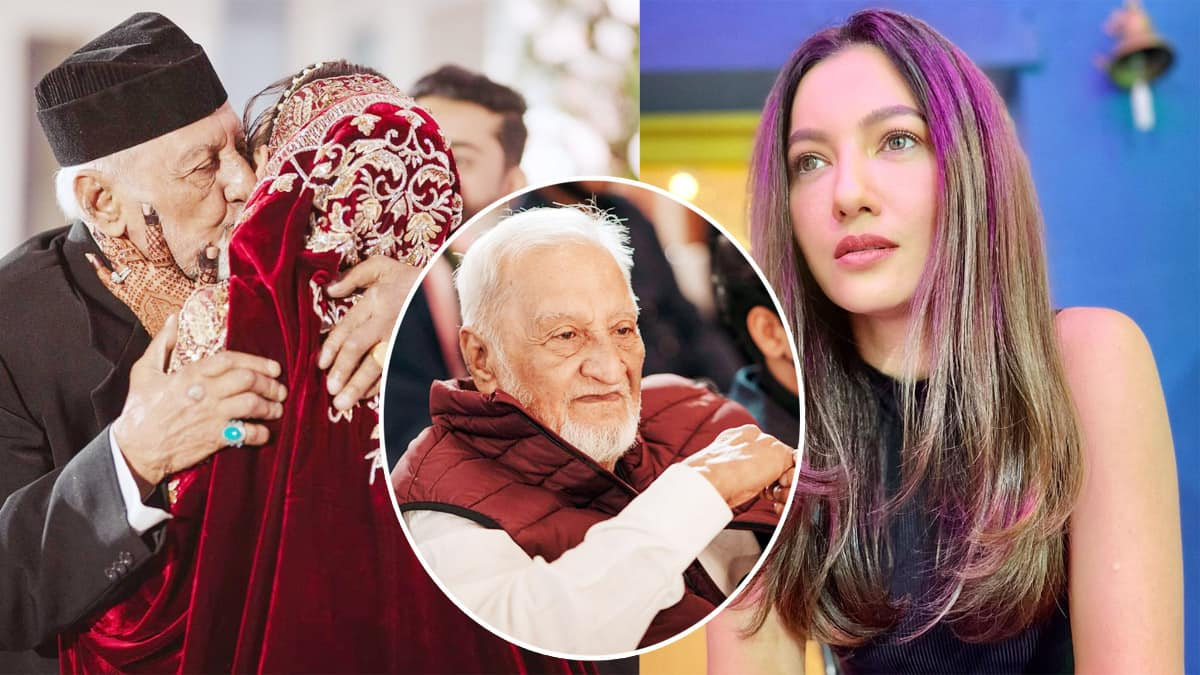 Gauahar Khan s father passes away