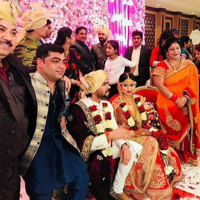 Gaurav Chopra ties knot with wife Hitisha Cheranda