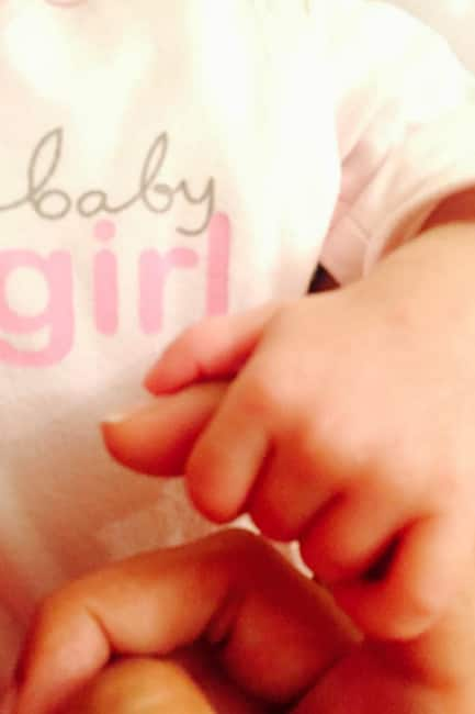 Geeta Basra shares first pic of her new born daughter