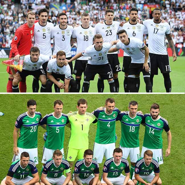 Germany beats Northern Ireland with 1 0 in UEFA EURO 2016 Group C match
