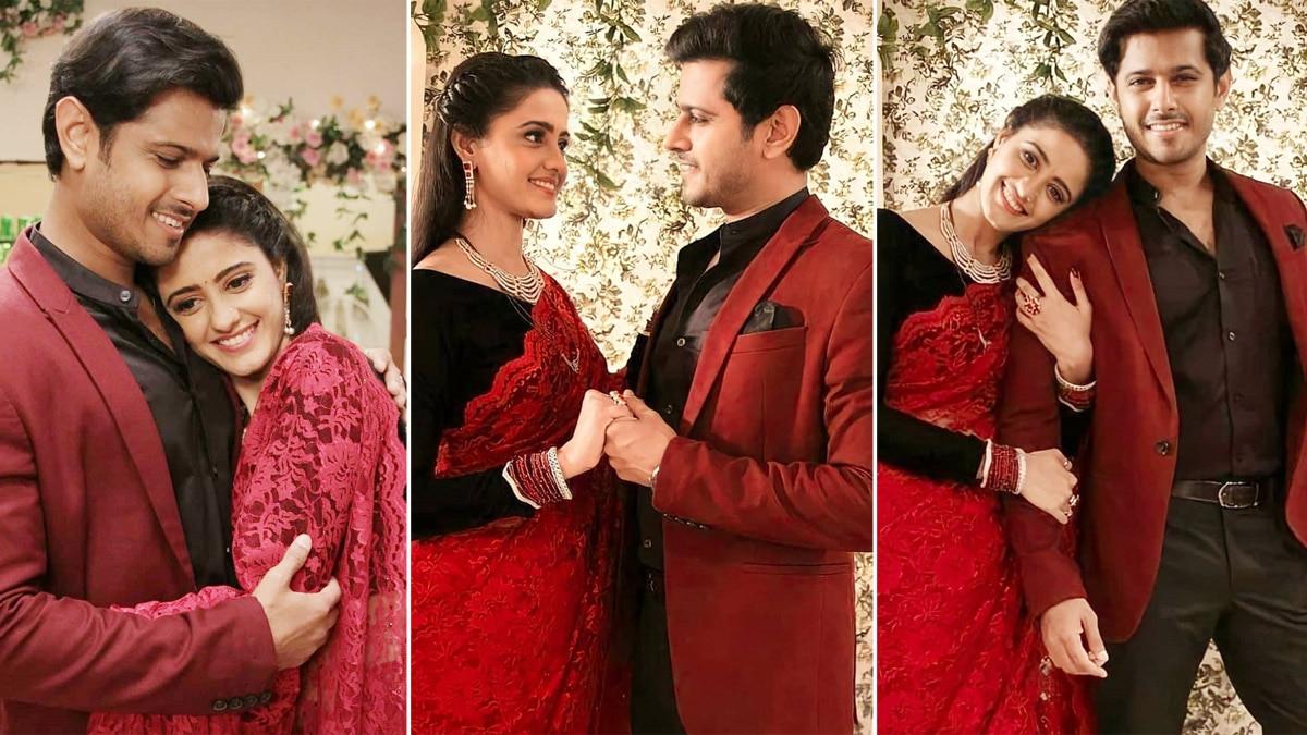 Ghum Hai Kisikey Pyaar Meiin  Sayi Virat Twin in Red