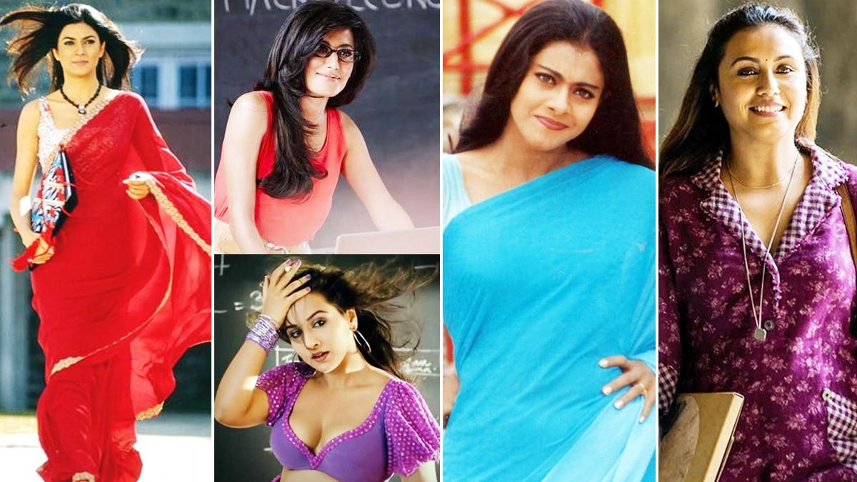 Glamorous Teachers of Bollywood