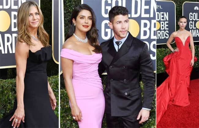 Golden Globes red carpet best and worst
