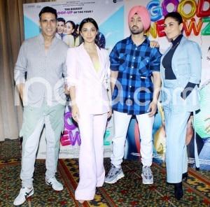 Good Newwz: Kareena Kapoor Khan, Akshay Kumar, Kiara Advani And Diljit Dosanjh Promote in Style