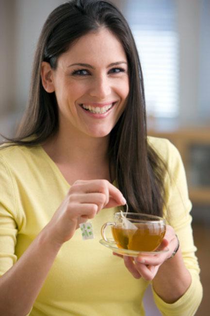 Green tea regulates blood sugar levels
