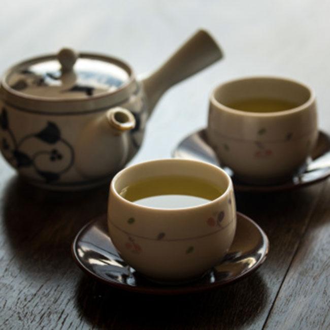 Green tea slows down skin ageing