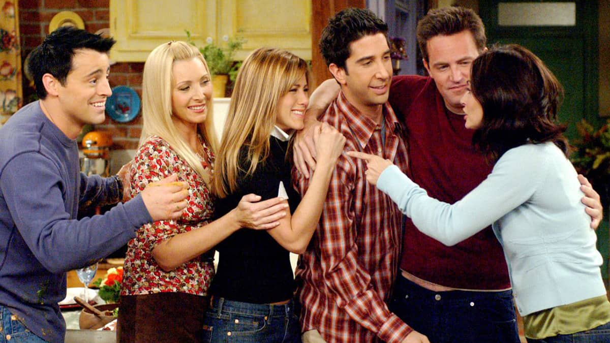 Guest characters who graced the Friends Reunion episode