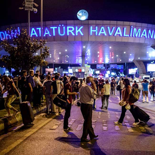 Gun and bomb attack on Istanbul s Ataturk international airport