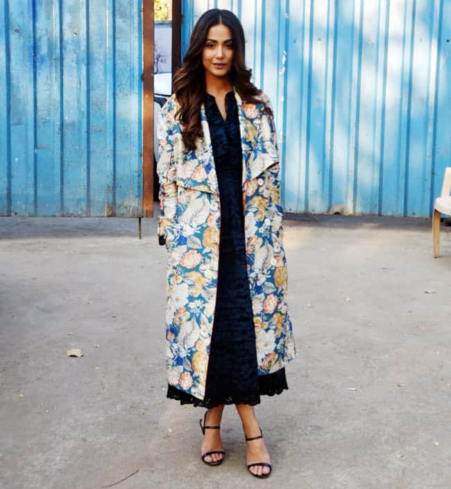 Hacked Promotions; Hina Khan Looks Drop-dead Gorgeous