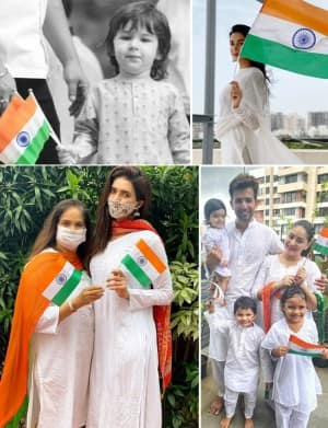 Happy 74th Independence Day: From Taimur Ali Khan to Karishma Tanna, Celebs Wish Their Fans on Patriotic Day