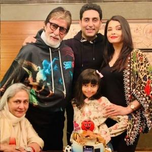 Abhishek Bachchan Cuts His 44th Birthday Cake With Family, Shweta Bachchan Makes Beautiful Post