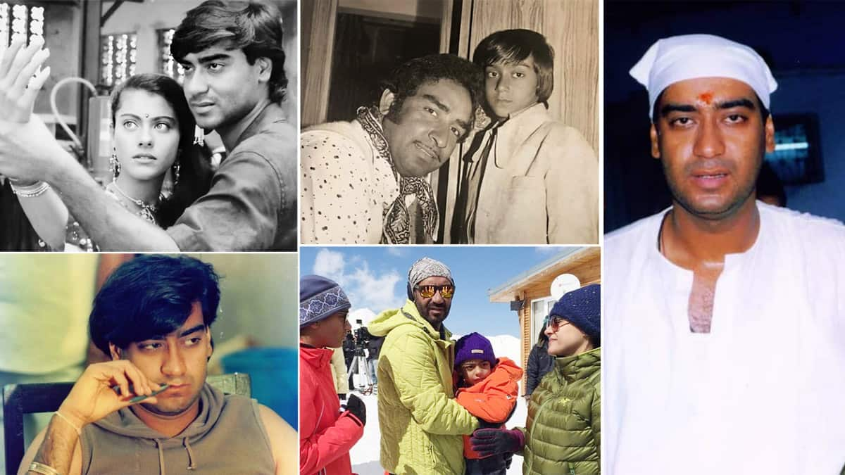 Happy Birthday Ajay Devgn  Check out Unseen Images