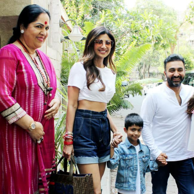 Happy Birthday Shilpa Shetty  Actor Goes For Birthday Lunch With Family