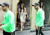 Varun Dhawan And Natasha Dalal Spotted on a Sunday Lunch Date
