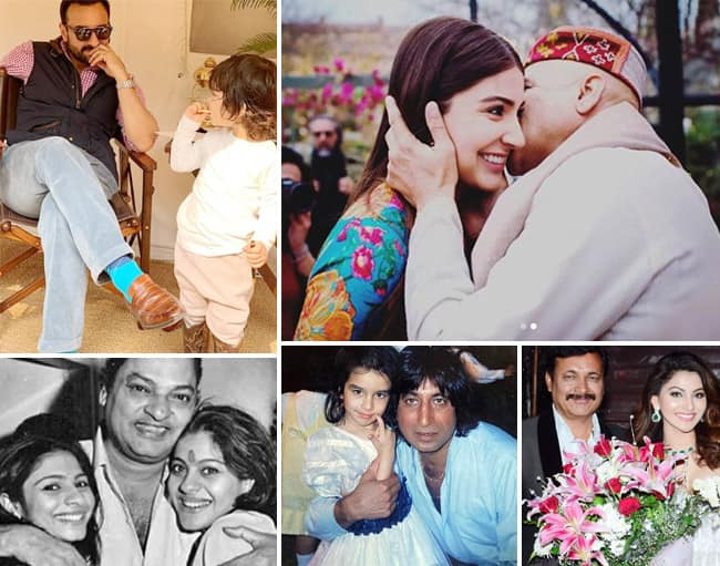 Happy Father   s Day 2020  Celebrities Wish Their Dad With  Throwback Pictures