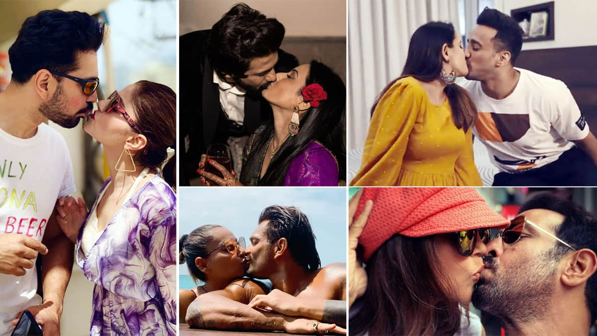 Happy Kiss Day 2021  Indian TV Actors Who Locked Lips in Public