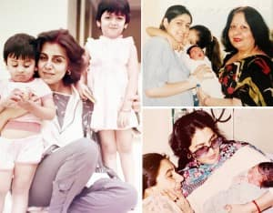 Bollywood Celebs Share Childhood Pictures With Their Moms on Mother's Day