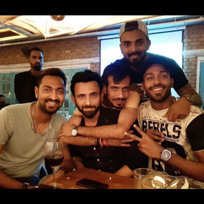 Hardik Pandya shares a picture on Instagram