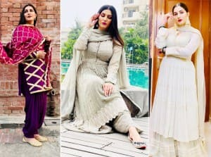 Haryanvi Dancer Sapna Choudhary Looks Drop-Dead Gorgeous in Latest Set of Pictures Post Pregnancy