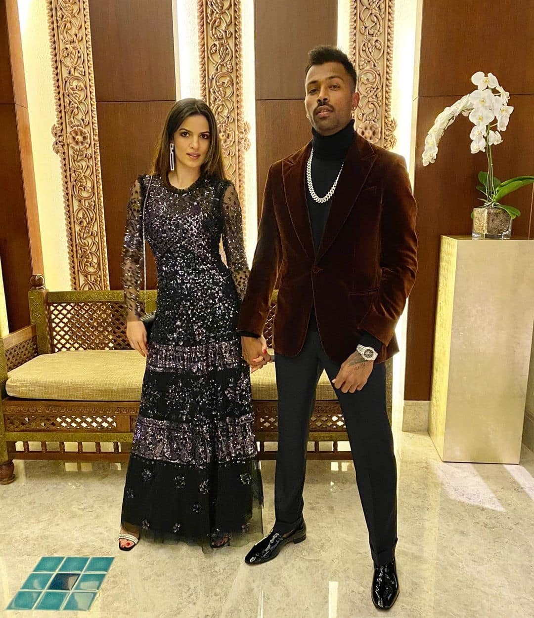 Has Hardik Pandya confirmed his relationship with Natasa Stancovic
