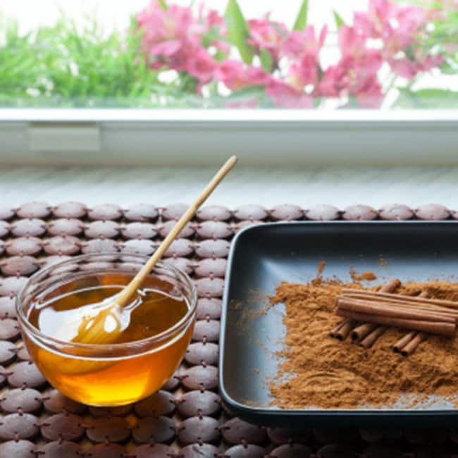 Have Honey and Cinnamon to cut down fat