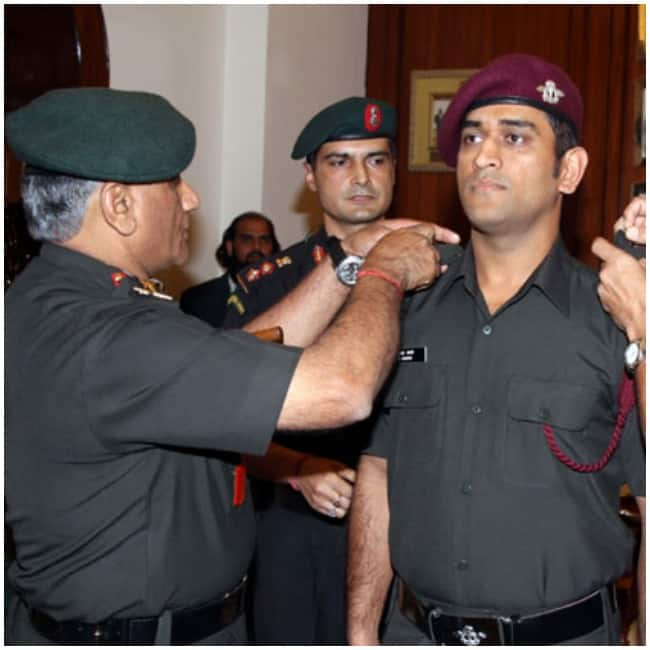 He is an honorary Lieutenant Colonel in the Parachute Regiment of the Territorial Army