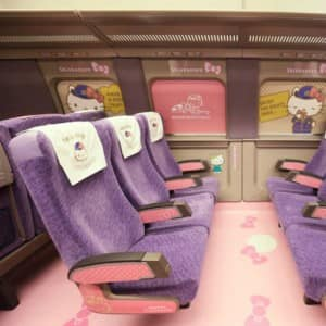 Japan's New Hello Kitty-Themed Bullet Train Is What You Need To See