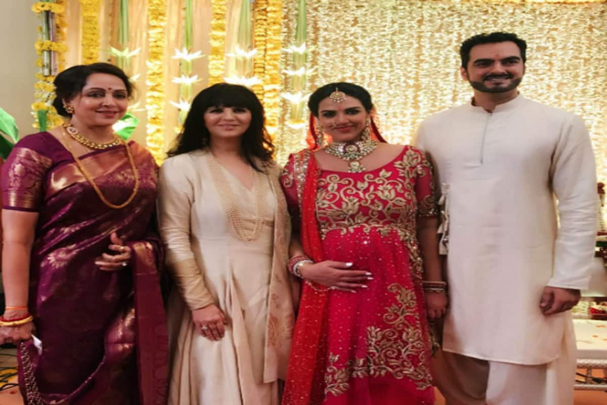 Inside pictures of Esha Deol's baby shower