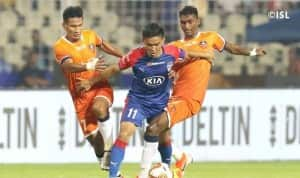 Indian Super League 2019-20: FC Goa Salvage a Thrilling Draw Against Bengaluru FC After Late Drama