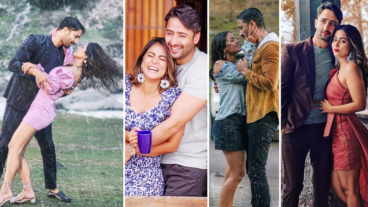 Hina Khan and Shaheer Sheikh s on screen romance is ruling hearts