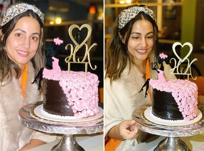 Hina Khan completes 12 years in the industry
